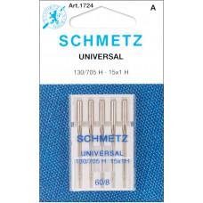 Набор игл Schmetz для швейной машинки № 8/60 (1724)