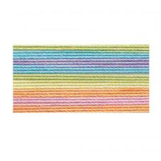 Хлопковая нить Lizbeth Cordonnet Cotton №80, Rainbow Taffy (HH80 153)