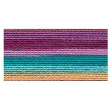 Хлопковая нить Lizbeth Cordonnet Cotton №80, Ocean Sunset (HH80 155)