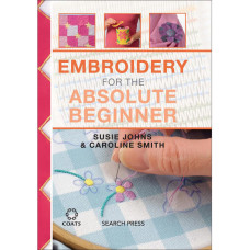 Книга Embroidery For The Absolute Beginner(SP-12652)