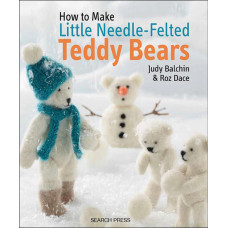 Книга How To Make Needle-Felted Teddy Bears (SP-10696)