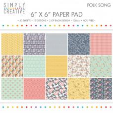Набор бумаги Folk Song (SCPAD008)