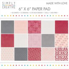 Набор бумаги Made With Love (SCPAD016)