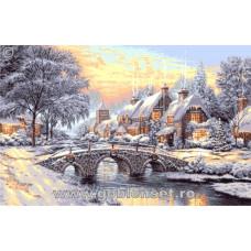 Набор для вышивки GOBLENSET Зимний закат (G993)