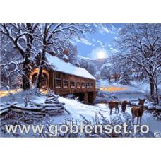 Набор для вышивки GOBLENSET Зимняя тишина (G969)