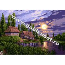 Пейзаж при полной луне (G942)*