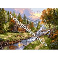Набор для вышивки GOBLENSET Рай в горах (G906)
