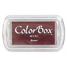 Пигментное чернило ColorBox Pigment Inkpad Mini, коричневое (COB74054)