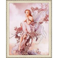 Набор для вышивания бисером Золотое руно Фея цветов (РТ-015)
