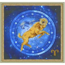 Набор для вышивания бисером Золотое руно Овен (РТ-049)