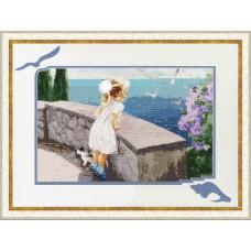 Набор для вышивания крестиком Золотое руно Запах моря (ЧМ-031)