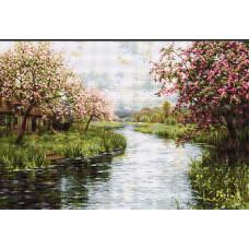 Весенний пейзаж (G545)
