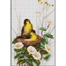 Птички в гнездышке (B2240)