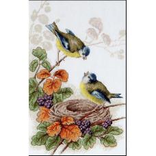 Птички у гнезда (B215)