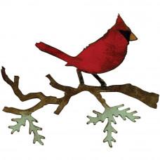 Нож для вырубки Рождественский кардинал (658260)