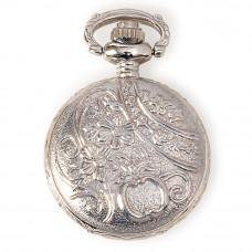 Подвеска-корпус часов Small Pocket Watch Case Silver (STEAM093)