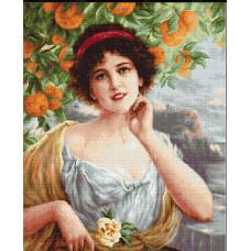 Красавица под апельсиновым деревом (G546)