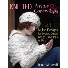 Книга Knitted Wraps & Cover-Ups (STB-14440)