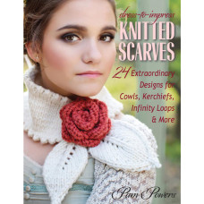 Книга Knitted Scarves (STB-13283)