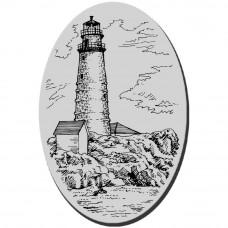 Резиновый штамп Boston Lighthouse (CRM073)