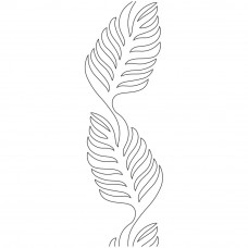 Трафарет для простёгивания Папоротник (EL 408)