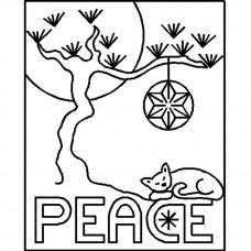 Трафарет для простёгивания Мир (PC 122)