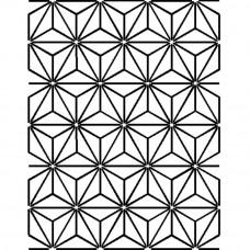 Трафарет для простёгивания Звезды (PC 303)