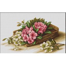 Корзинка с цветами (B510)