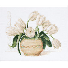 Тюльпаны в вазе (B2217)
