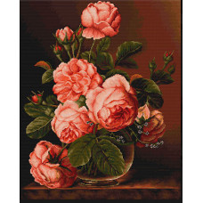 Ваза с розами (B488)