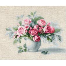 Этюд с чайными розами (BL2280)