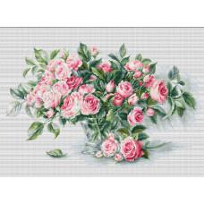 Букет чайных роз (B2286)