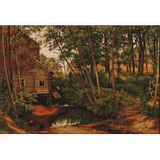 Мельница в лесу (Шишкин)(B456)