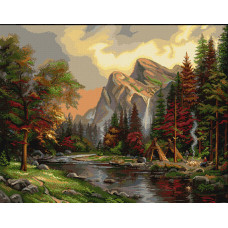 Пикник в горах (B408)