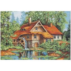 Мельница в лесу (B480)