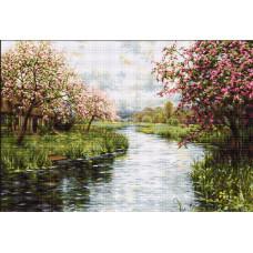 Весенний пейзаж (B545)