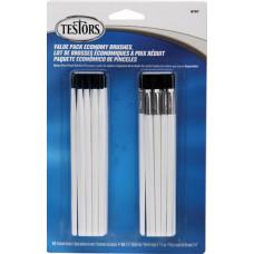 Набор кисточек Testors Economy Brushes, 20 шт. (8707)