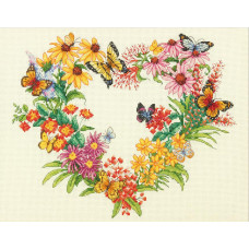 Венок из диких цветов (35336)