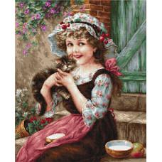 Маленький котенок (B538)