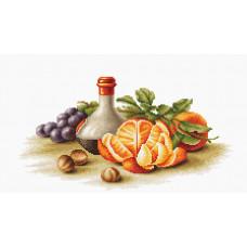 Натюрморт с апельсинами (B2250)