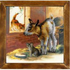 Козленок и котята (РТ-0053)