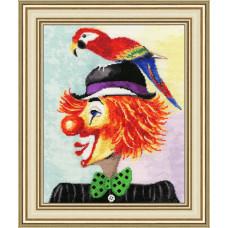 Клоун с попугаем (ВК-030)
