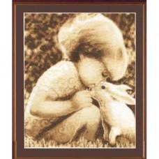 Девочка с кроликом (СВ-009)*