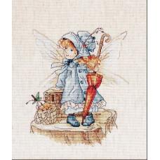 Набор для вышивания крестом Luca-S Фея (B1110)