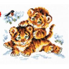 Набор для вышивания крестиком Чудесная игла Безмятежное детство (18-87)