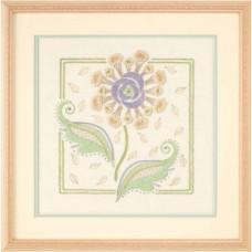 Набор для вышивания гладью Объёмный цветок - Textured Floral (01540)