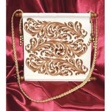 Набор для вышивания крестиком Золотое руно Сумка с орнаментом (СУ-002)