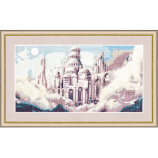 Набор для вышивания крестиком Золотое руно Воздушный замок (Ф-023)