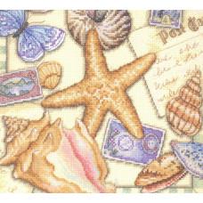 Набор для вышивания крестом Dimensions Коллекция ракушек (35242)