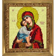 Набор для вышивания бисером Краса і творчість Донская икона (20114)